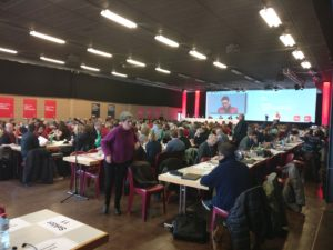 Delegierte des Parteitag SP Schweiz