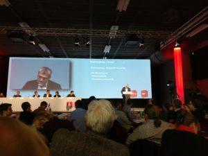 Parteitaga SP Schweiz mit Eric Nussbaumer