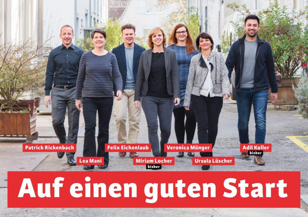 Landratskandidierende SP Arlesheim und Münchenstein.